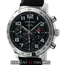 Chopard Mille Miglia Chronograph Stainless Steel 40mm Black...