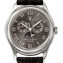 Patek Philippe Annual Calender Moonphase Black Dial Black...
