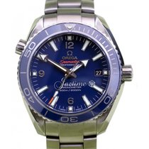 Omega 232.90.42.21.03.001 Planet Ocean 600M Co-Axial 42mm Blue...