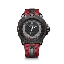 Victorinox Swiss Army Alpnach Mechanical, black PVD steel, red...