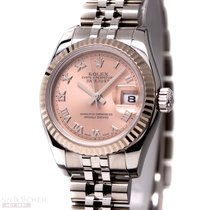 Rolex Datejust Lady Ref-179174 Stainless Steel Box Papers Bj-2006