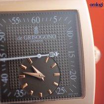 De Grisogono Men's UNO Grande Seconde 18K Rose Gold on...