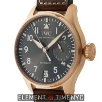 IWC Pilot Collection Big Pilot 18k Rose Gold 46mm Slate Dial