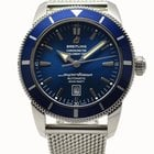 Breitling SuperOcean Heritage 46 Automatic Watch Blue Dial...