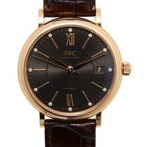IWC Portofino 18k Rose Gold Dark Grey Automatic IW458106