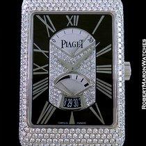 Piaget Black Tie  A L'ancienne 18k Wg Automatic  Pave...