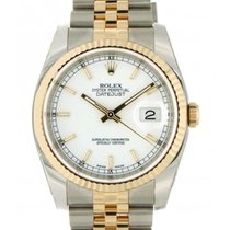 Rolex Datejust 36mm 116233 Steel, Yellow Gold