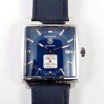 TAG Heuer Monaco Steve McQueen blue Calibre 6  WW2111.FC6204 RARE