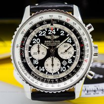 Breitling A2232212/B567 Cosmonaute Flyback Automatic SS Black...