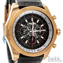 Breitling for Bentley B04 GMT 18k Rose Gold Chronograph Watch...
