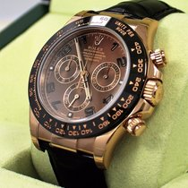 Rolex Daytona 116515 Ln 18k Rose Gold Cosmograph Chocolate...