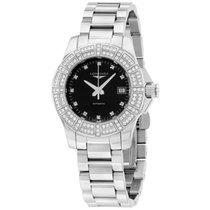 Longines Conquest Automatic Ladies Diamonds Watch L31800576