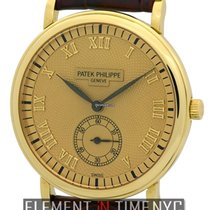 Patek Philippe Calatrava 18k Yellow Gold 33mm 1990's Ref....
