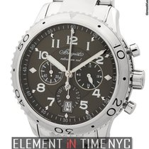 Breguet Pilot Series Type XXI Flyback Chronograph Ruthenium Dial