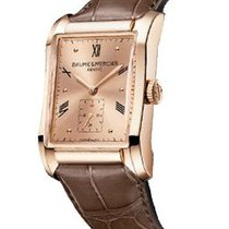 Baume & Mercier Hampton Rectangular Red Gold - 10033