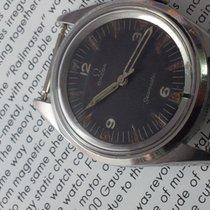 "Omega Seamaster ""RAILMASTER"" P.A.F Arabic 3/4 dial 1963"