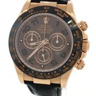 Rolex Daytona 18K Solid Rose Gold Chocolate Dial