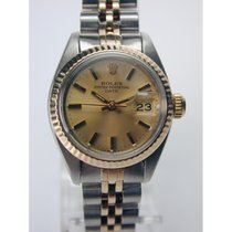Rolex Oyster Perpetual Stahl-Gold Damenarmbanduhr