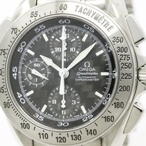 Omega Polished Omega Speedmaster Split Second Carbon Automatic...
