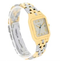 Cartier Panthere Jumbo Steel 18k Yellow Gold Special Edition...