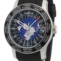 Fortis B-47 World Timer GMT Automatik 674.21.11 L.01