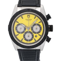 Tudor Fastrider Yellow Chrono Automatic Men's Watch – 42010N