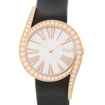 Piaget Limelight 18 K Rose Gold With Diamonds White Manual...
