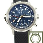 IWC Aquatimer Expedition Jacques Cousteau blue dial NEW