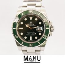 Rolex Submariner Verde Verde Hulk Green Ref.116610LV