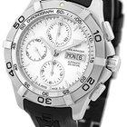 "TAG Heuer ""Aquaracer 2000"" Chronograph Strapwatch."