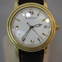Blancpain LEMAN ULTRA SLIM 2100 750/- GOLD FULLSET