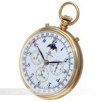 Dugena Chronograph Gelbgold Taschenuhr