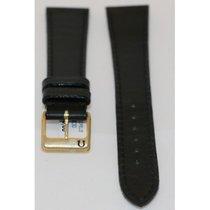 Omega -black Calf Leather Strap