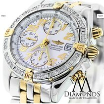 Breitling Two Tone B13050 Chronograph Automatic Watch With...