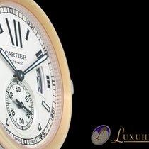 Cartier Calibre De Cartier Rosegold/Edelstahl Automatik 42 mm