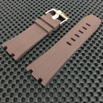 愛彼 (Audemars Piguet) Custom Made Brown Rubber Strap RoyalOak...