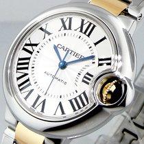 Cartier Ballon Bleu W6920099 33 Mm Midsize Steel Gold Automatic
