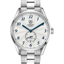 TAG Heuer Calibre 6 Heritage 39mm -Silver, blue arabic numerals