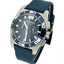 Locman Stealth 021200BA-BLBSIB Quarz CHronograph Men's Watch
