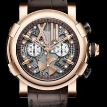Romain Jerome STEAMPUNK CHRONO FULL RED