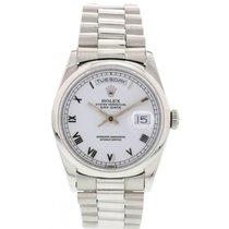 Rolex Men's Rolex Oyster Perpetual Day-Date Platinum...