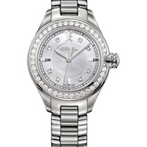 Ebel Onde Lady 30mm Ref.1216096, Diamantbes. 0,89ct