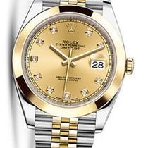 Rolex OYSTER PERPETUAL DATEJUST CHAMPAGNE DIAMOND 41MM 126303