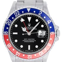 Rolex GMT-Master Men's Stainless Steel Watch Red Blue...