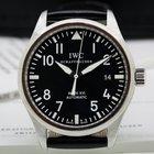 IWC Mark XVI Black Dial SS / Alligator