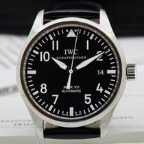 IWC Mark XVI Black Dial SS / Alligator