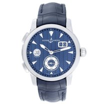 Ulysse Nardin Dual Time GMT Limited Edition Stainless Steel...