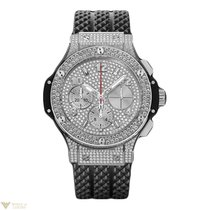 Hublot Big Bang 41mm Steel Full Pave Stainless Steel Diamonds...
