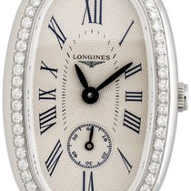 Longines Symphonette Medium Steel & Diamond Womens Strap...