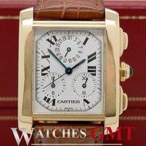 Cartier Tank Francaise Gold Chrono Quartz